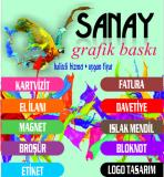 SANAY GRAFİK BASKI